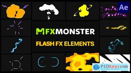 Cartoon Flash FX - After Effects 29810109