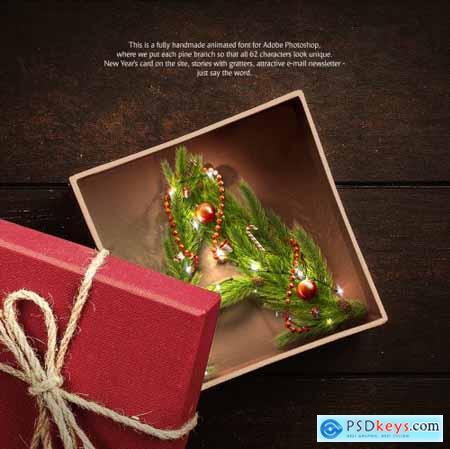 Christmas Animated Typeface 4164004