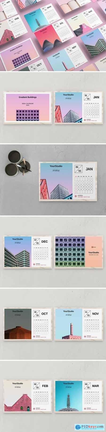 Desk Calendar Template 2021 BSPY8ZE