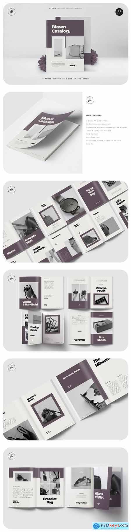 Blown Product Design Catalog