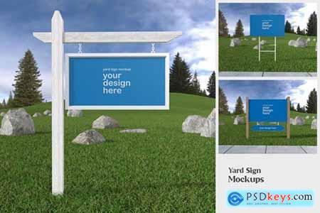 Yard Sign - Mockup FH