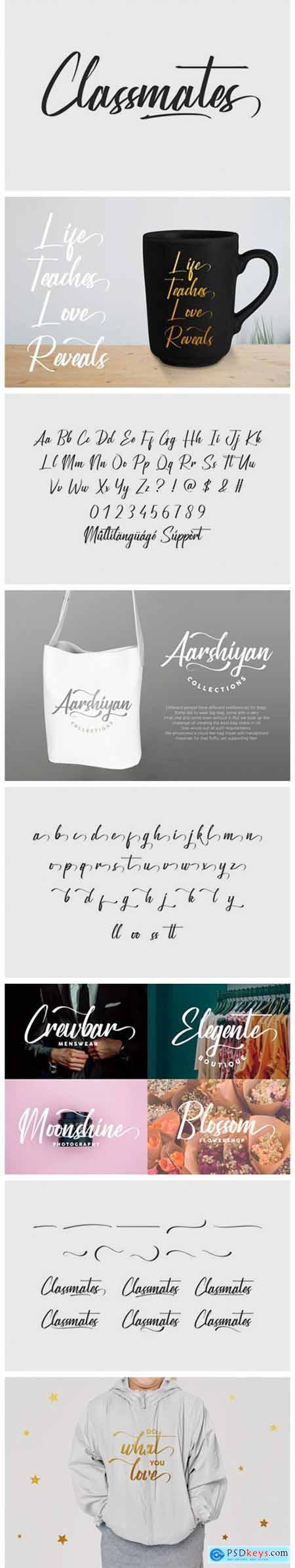 Classmates Font