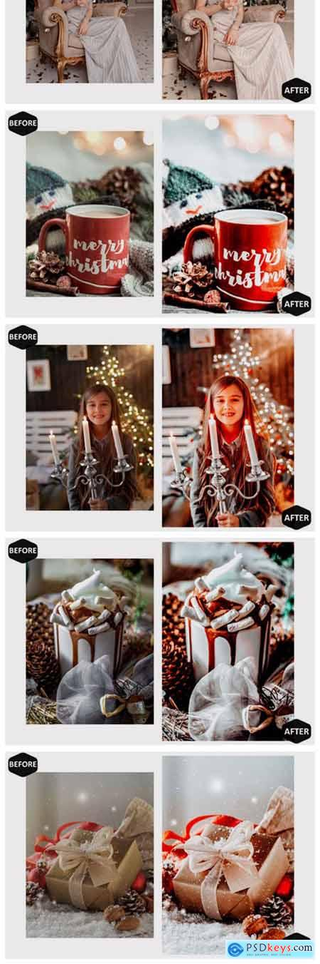 10 Moody Xmas Photoshop Actions and ACR 7099973