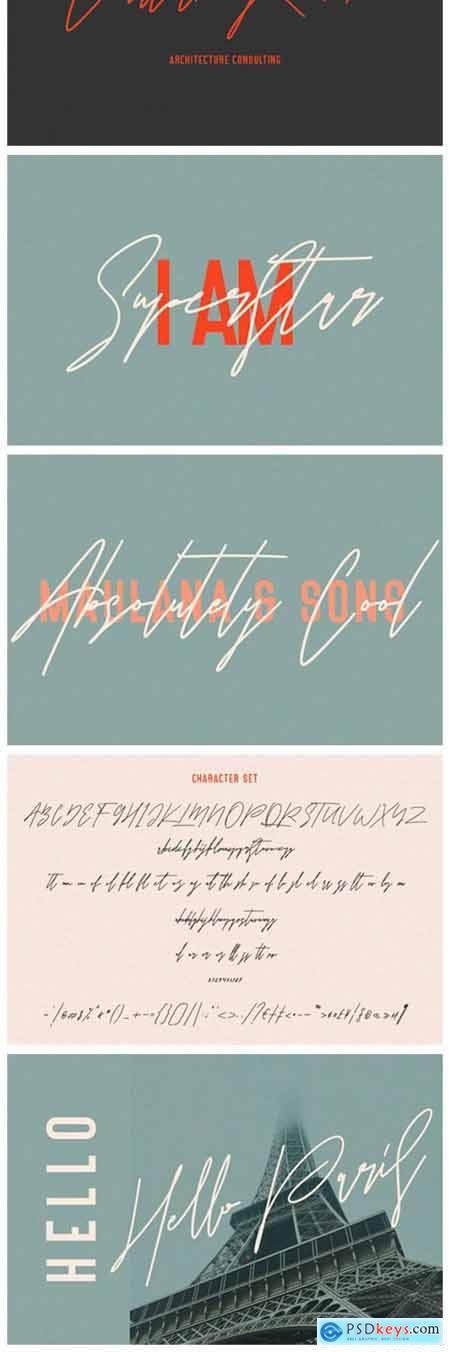 Astrados Signature Font