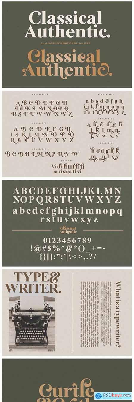 Classical Authentic Font 5174273