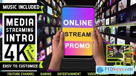 Media Streaming Content Intro Logo 29327378