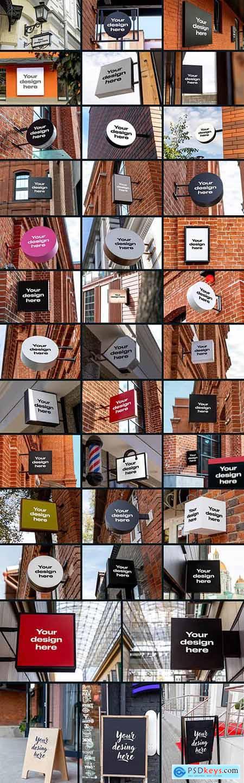50 Signs & Boards Mockups 5538161