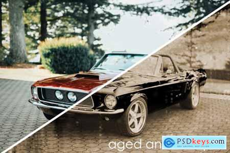 Vintage Look Photoshop Actions Pack 5721333