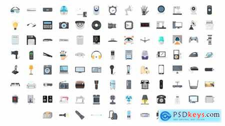 100 Electronic Gadgets Icons 29840386