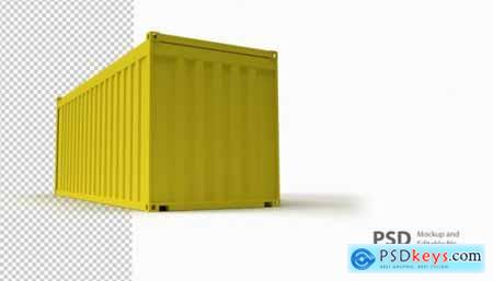 Container Mockup