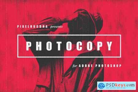Retro Photocopy Effect 5656322
