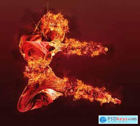 Ifrit Photoshop Action 5299037
