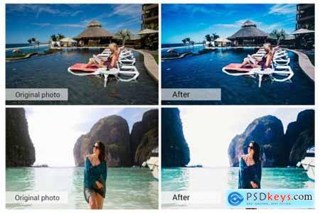 Travel Beach Lightroom Presets 5157497