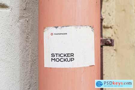 47 sticker mockup bundle vol 2 5358460