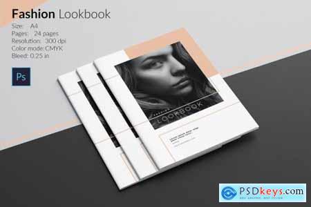 Fashion Lookbook Template 4987950