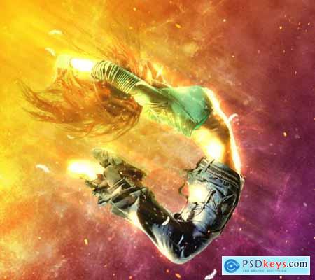 Sacred Light Photoshop Action 5299180