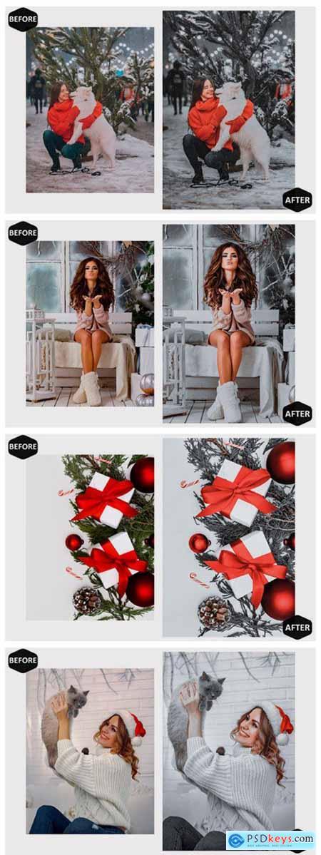 10 Ho Ho Holiday Photoshop Actions 7099826
