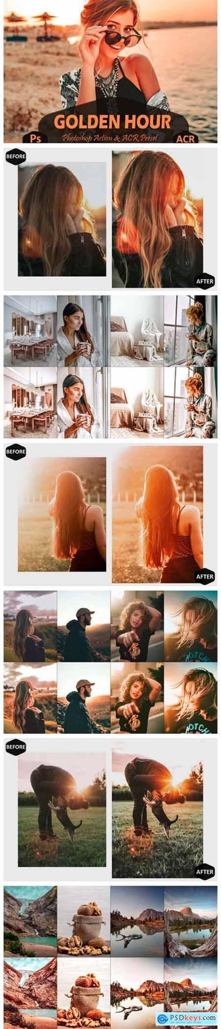 10 Golden Hour Photoshop Actions and ACR 7099653