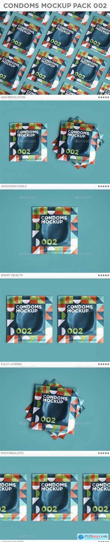 Condoms Mockup Pack 002 - 29436641