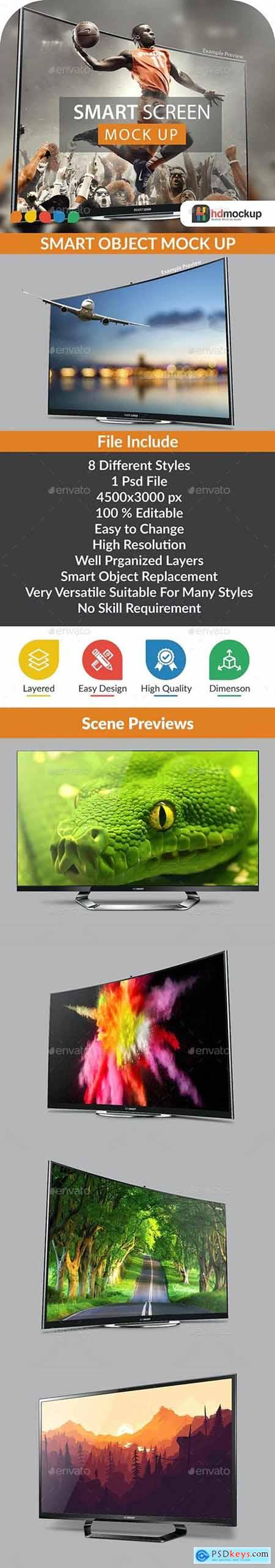 Smart Screen Mock Up - 004 - 29385446