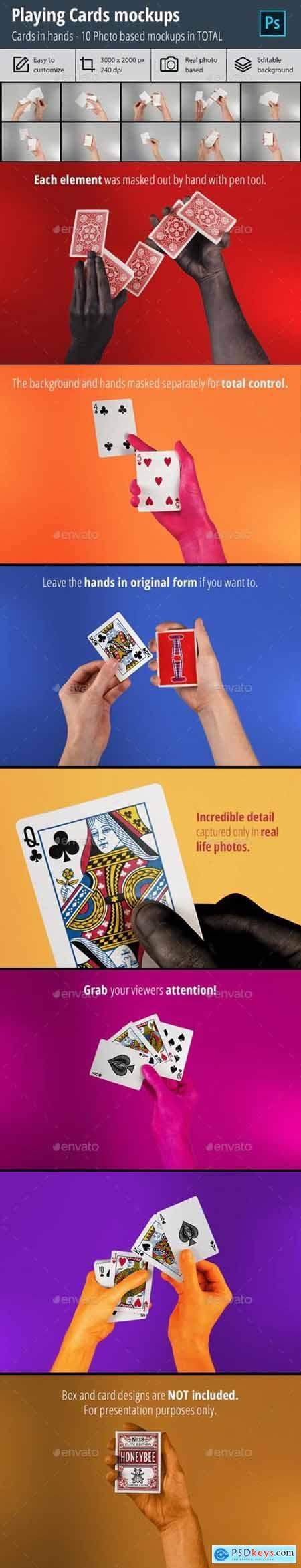 Playing Cards Mockup vol3 29401422