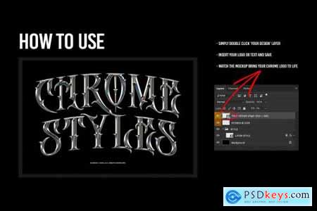 Chrome Text Styles 3.0 5703914