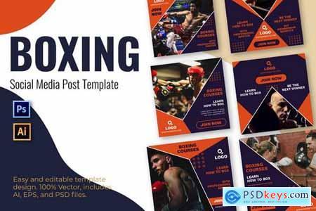 Boxing Social Media Template - 5723323