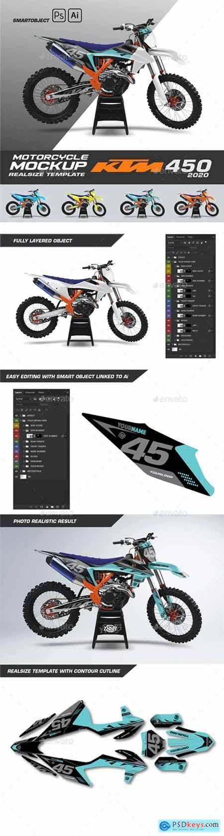 KTM 450 Mockup - 29401075