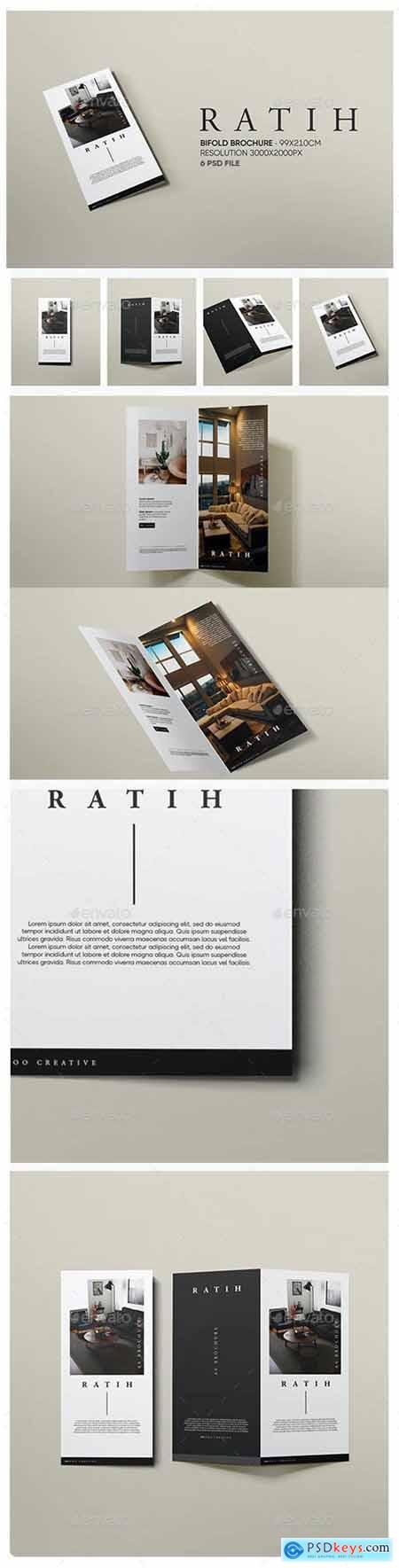 Ratih - DL Bifold Brochure Mockup - 29384754
