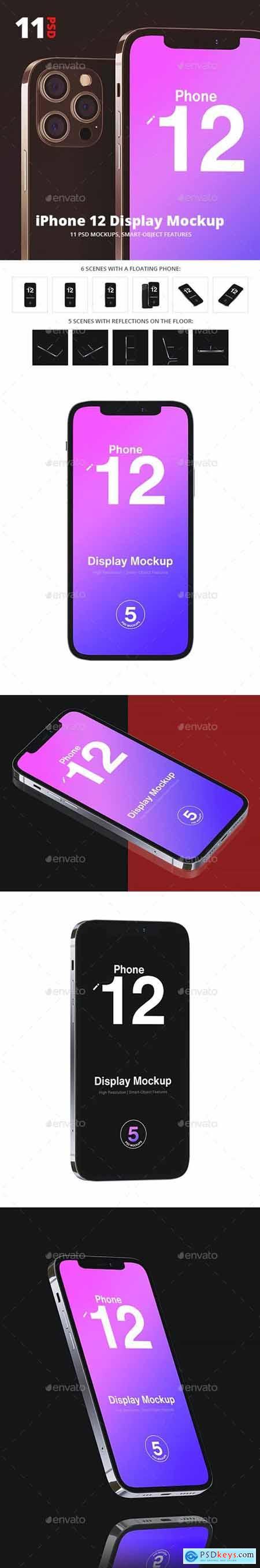 Phone 12 Mockup - 29430193