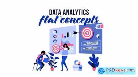 Data analytics - Flat Concept 29793708