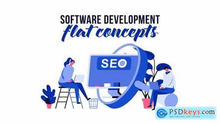 Software development - Flat Concept 29793769