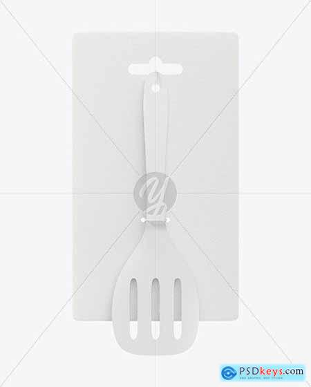 Plastic Kitchen Spatula Mockup 71760
