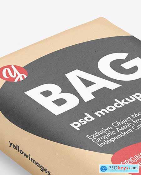 Kraft Bag Mockup 72512