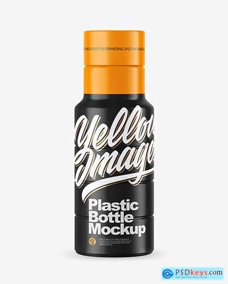 Matte Plastic Bottle Mockup 72610