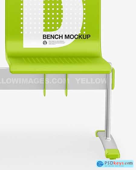Matte Bench Mockup 72536