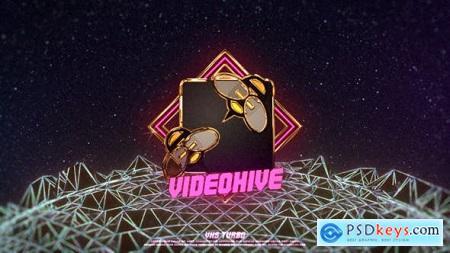 Retro VHS Logo 23864590