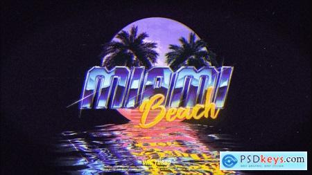Retro Wave Logo 24462182