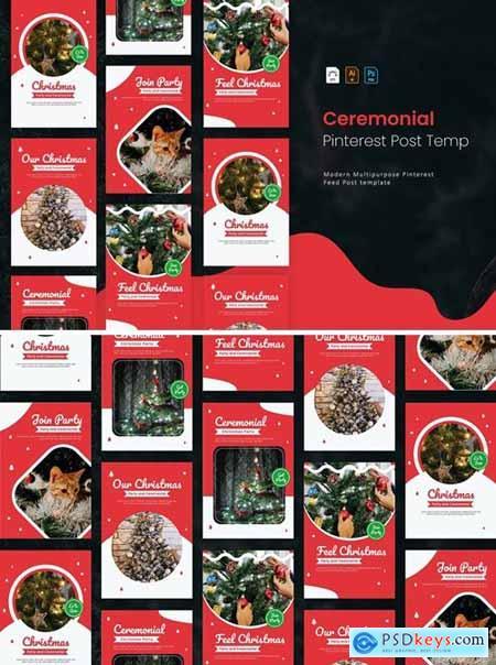 Christmas Ceremonial - Pinterest Post Template