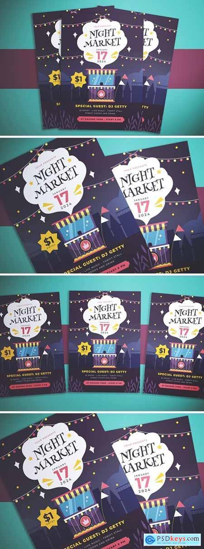 Night Market Flyer