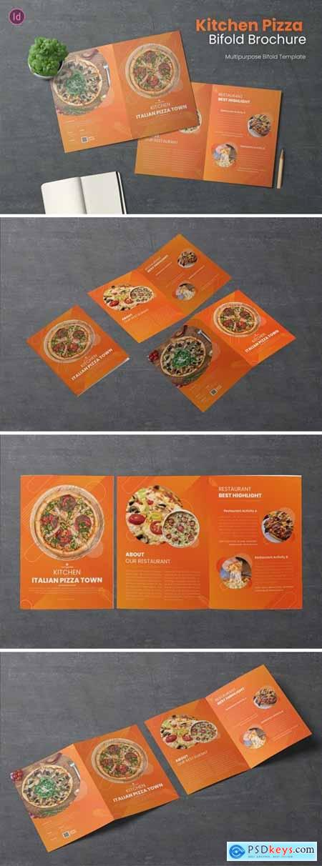 Kitchen Pizza Bifold Brochure
