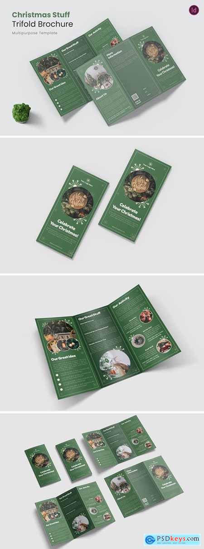 Christmas Stuff Trifold Brochure