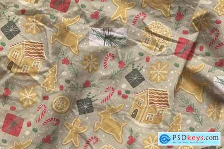 Cotton Fabric Mockup 5632631