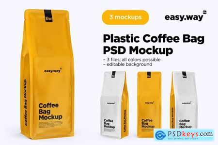 Coffee Bags PSD Mockups 5634584