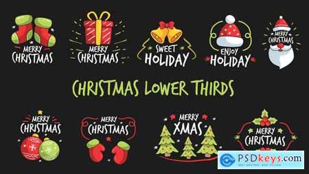Christmas Lower Thirds 22910386