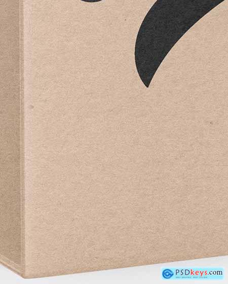 Kraft Packaging Box Mockup 72527
