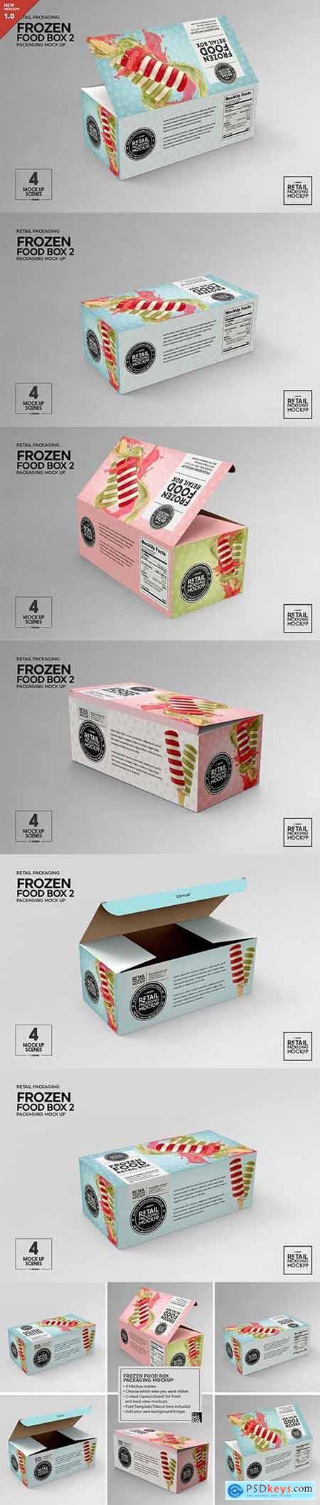 Creativemarket Retail Frozen Food Packaging2 Mockup 5730740