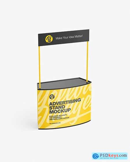 Advertising Stand Mockup 72130