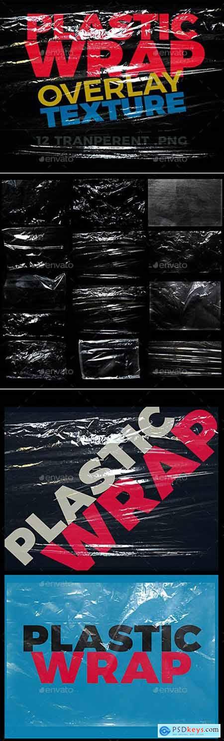 Graphicriver Plastic Wrap Overlay Texture 29714507