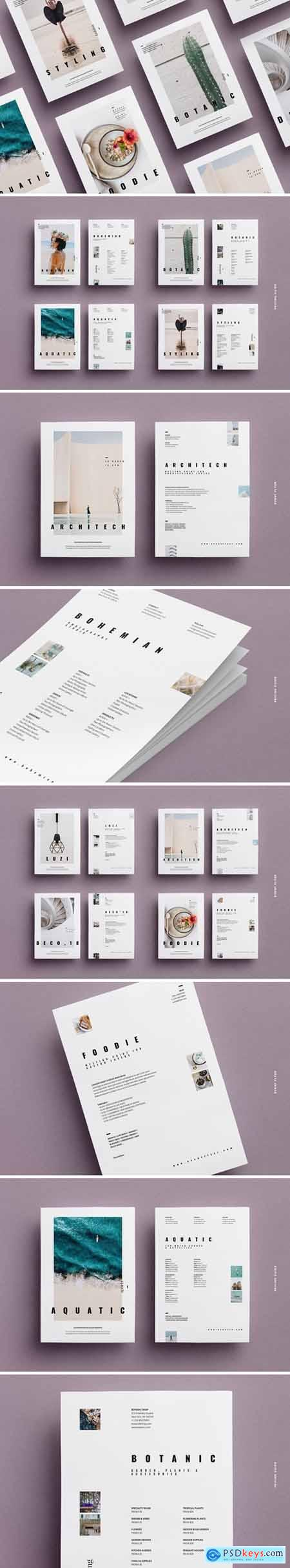Concept Flyer Pack A4